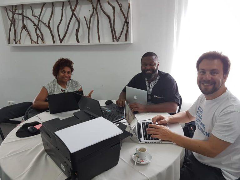 Un hackathon au Cap Vert