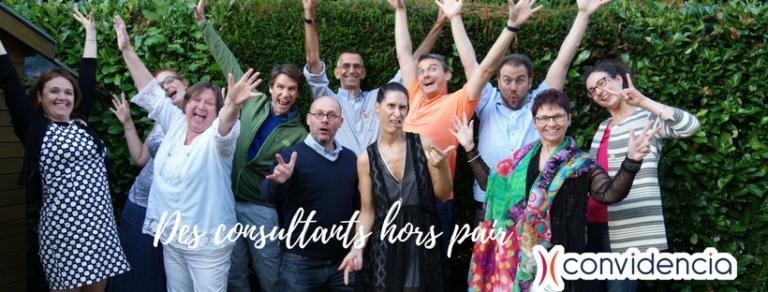 Des consultants hors pairs chez Convidencia